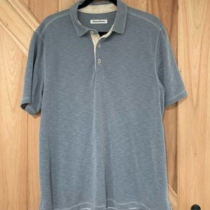 Tommy Bahama Palm Coast Polo - Slate Blue
